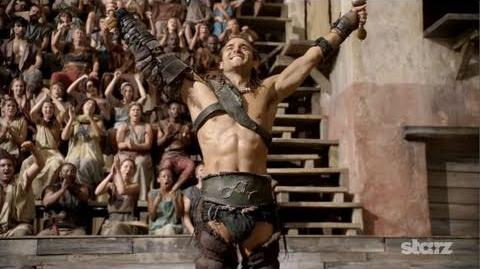 Spartacus Gods of the Arena - Trailer