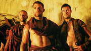 Donar with spartacus and agron