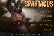 Spartacus blood and sand game