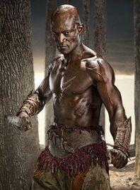Risultati immagini per spartacus enomao