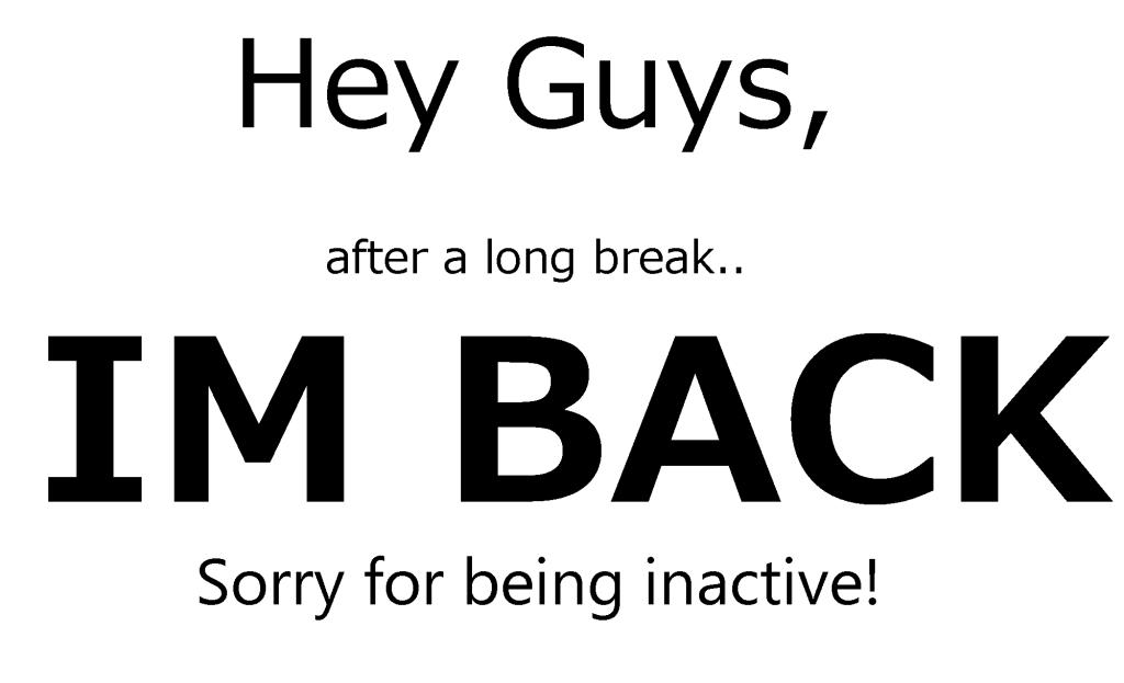 Image result for im back in blog