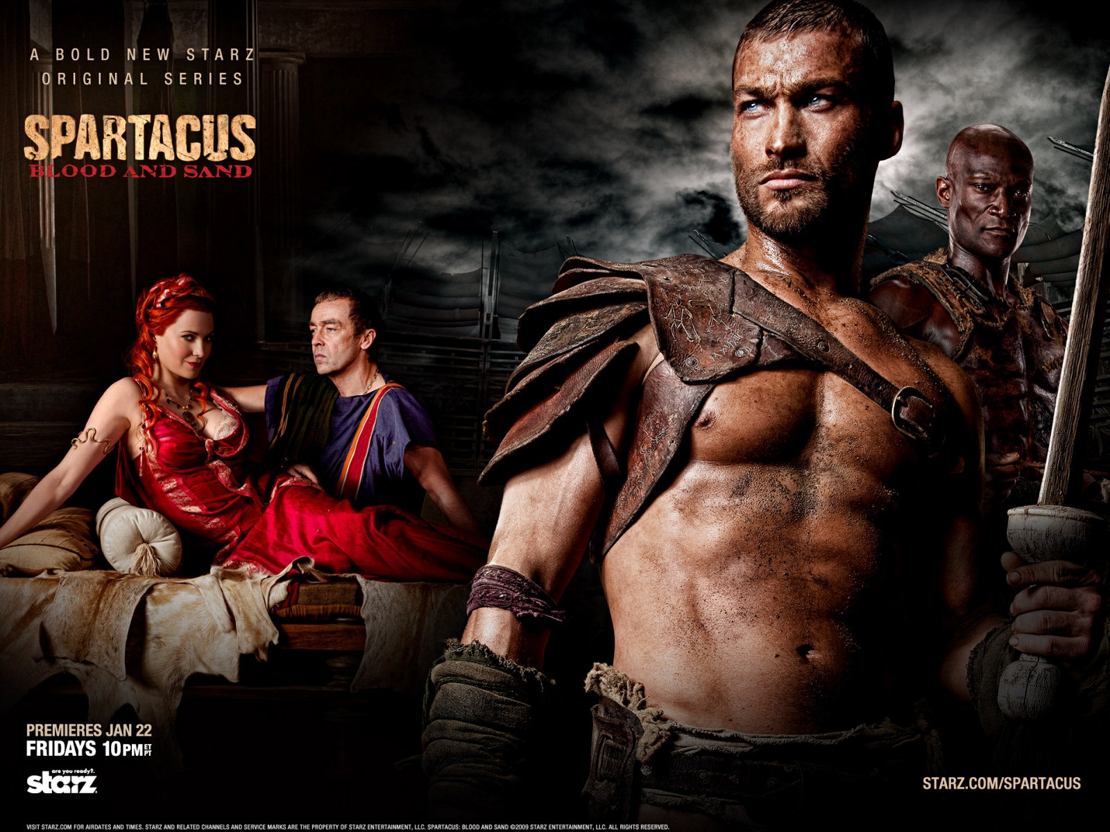 List of all seasons of Spartacus in order, plot, actors, basic information 84