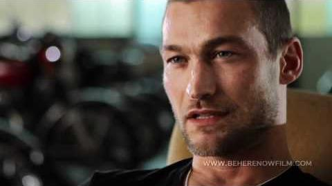 """Be Here Now"" -- The Andy Whitfield Story Feature Documentary Trailer, by Lilibet Foster"