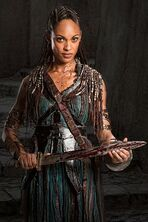 Actress - Cynthia Addai-Robinson as Naevia