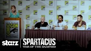 Spartacus War of the Damned - Comic-Con Panel STARZ