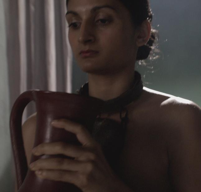 Batiatus sex with slave girl bath