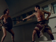Marcus and Elarus fight