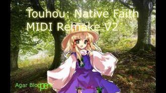 Touhou - Native Faith MIDI Remake