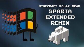 Niedźwiedź polarny Minecraft Sparta Extended Remix