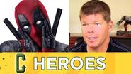 Collider Heroes - Deadpool Creator Rob Liefeld In Studio Talking About Upcoming Movie