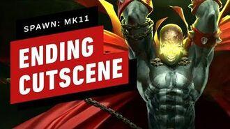 Mortal Kombat 11 DLC - Spawn Story Ending