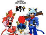 Samurai British Cats