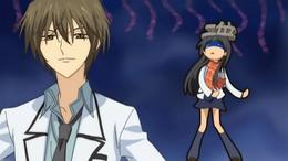 Kei calls Hikari 'Ms Rank Two'