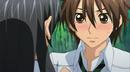 Tadashi blushing