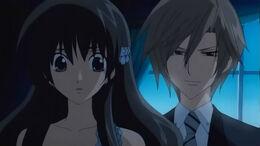 Hikari and Kei at the Dance Party