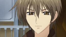 Kei smiles gently
