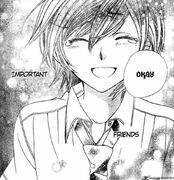 Akira toudou smile by sweetcupcake26-d3i9neb