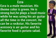 HSS Ezra's info