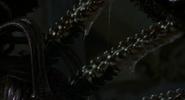Eve's Dorsal Spines Extended