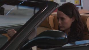Amelia in Ferrari