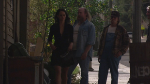 Amelia Walking Away From Cobb