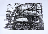 Dream Train Sketch