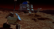 Excursion Lander on Mars