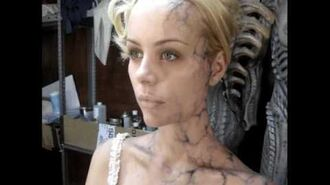 Special Effects Make Up of SPECIES The Awakening