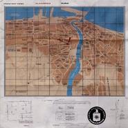 CIA East Dubai Map