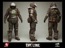 Heavy Trooper 3D Model