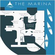 Dockside Marina Map