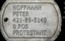 Peter Hoffman Dogtag