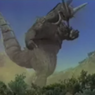 Baronsaurus as he appears in Episode 27