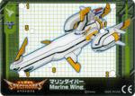Marine Wing Card