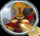 Shimadoros Button