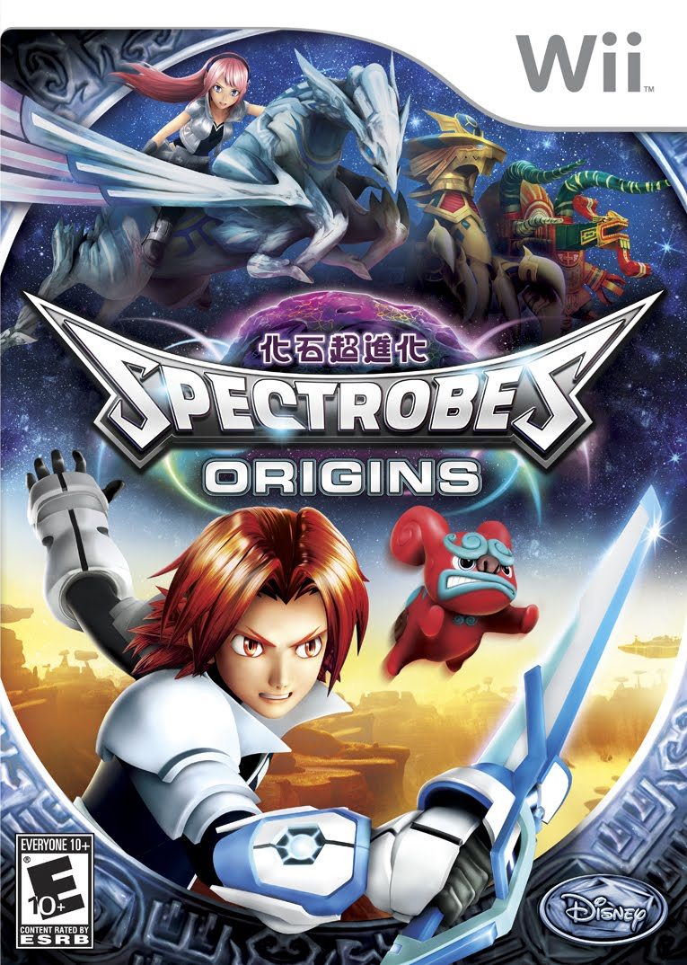 Archivo:Spectrobes Origins box.jpg