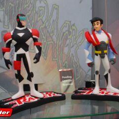 2006 San Diego Comic Con Art Asylum toy display