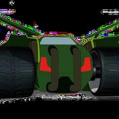 Clutch's vehicle rear