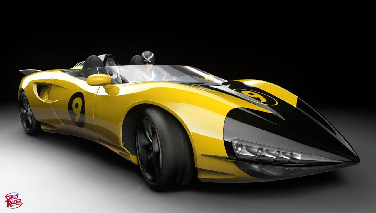 Speed Racer Mammoth Car Part