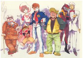 M-THUNDER cast