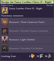 Recipe-Fancy-Leather-Glove-II-Right-Mouseover
