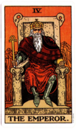 The Original Rider Waite Tarot, The Emperor