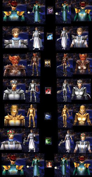 Spellforce heros predfined