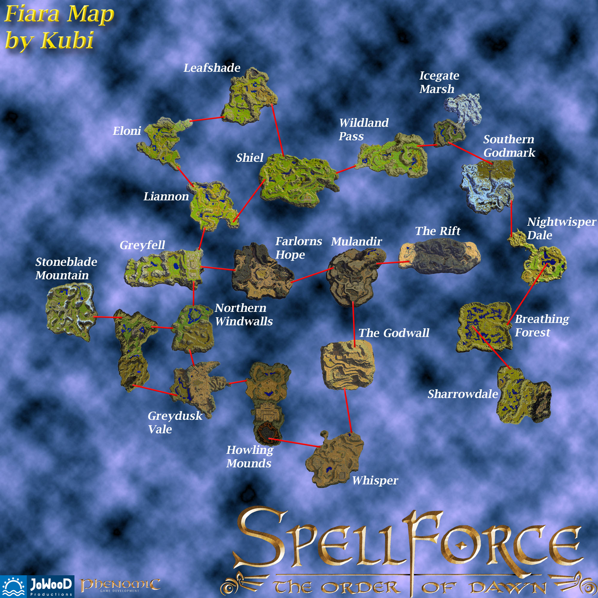 Maps | Spellforce Wiki | Fandom