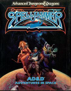 Spelljammer Box Cover