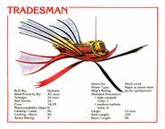 Tradesman Data Card 2e