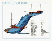 Battle Dolphin Data Card (2e)