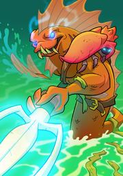 Fish Warrior B