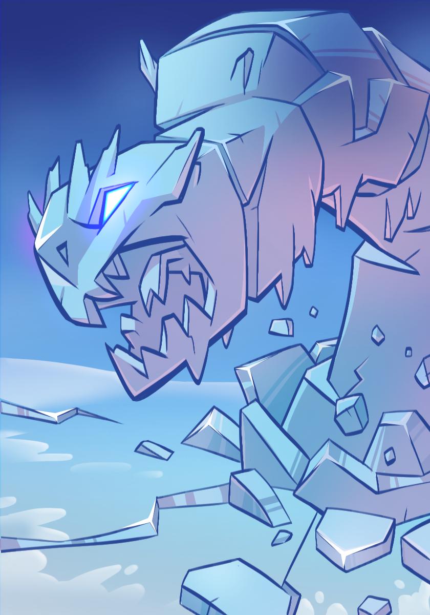 Icestone Beast | Spellstone Wikia | FANDOM powered by Wikia