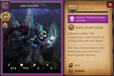 Elite Cirroleth max
